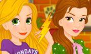 Rapunzel ve Belle Aşk Rakipleri