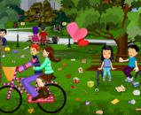 Sevgililer Günü Park Temizliği