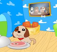 Sevimli Köpek Kulübesi