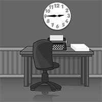 Siyah Beyaz Ofisten Kaçış