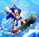Sonic Ve Mario Snowboard