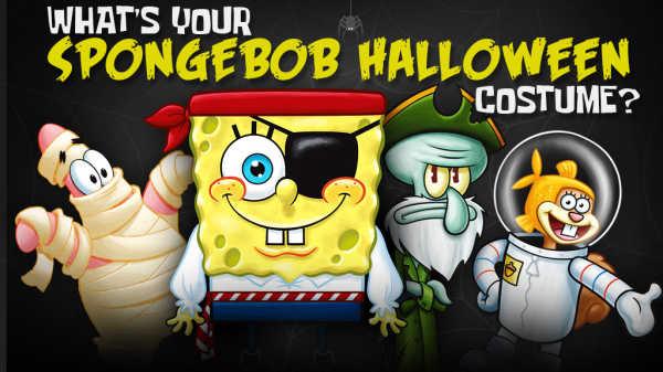 Sünger Bob Cadılar Bayramı Kostümü