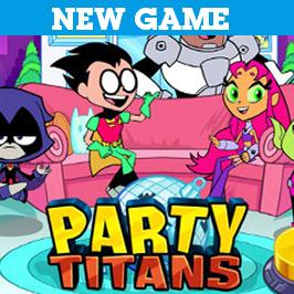 Teen Titans Partide Dans