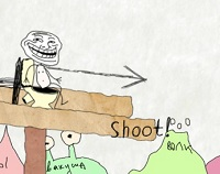 Troll Kafa Fırlat 2
