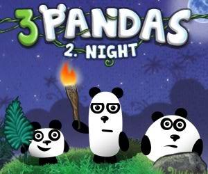 Üç Panda iki Gece