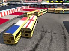 3D Arenada Otobüs Yarışı