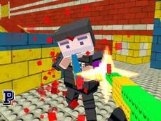 3D Gelişmiş Minecraft Savaş