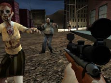 3D Sniper ile Zombi Öldürme