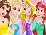 Disney Prensesleri Balo