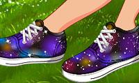 DIY: Galaksi Ayakkabıları