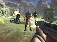 Ghost Team Shooter (3D Savaş Oyunu)