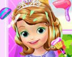 Küçük Prenses Saç Bakımı