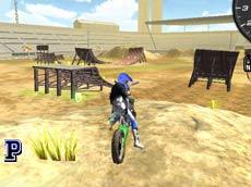Motosikletle Akrobatik Hareketler