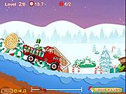 Noel Baba Kamyonla Teslimat