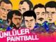 Ünlüler paintball